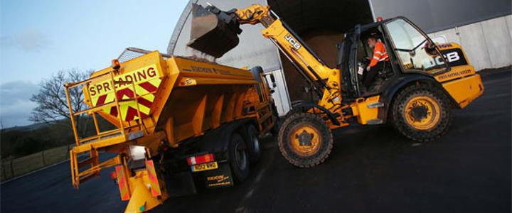 Gritter stocking up
