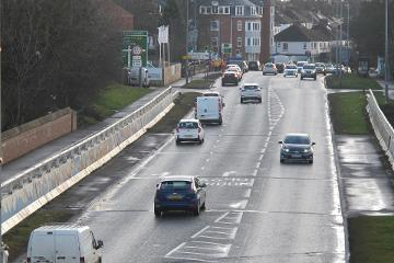 Neville's Cross Bridge roadworks