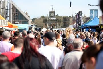 Bishop Auckland Food Festival - Crowd Shots