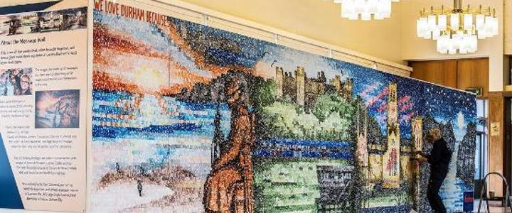Artwork celebrating County Durham unveiled