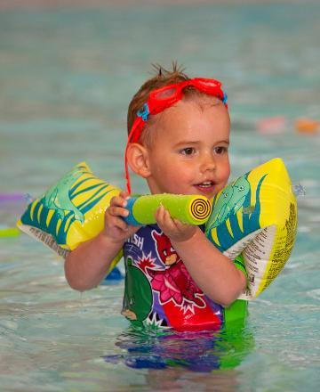 Help build children's water confidence with free activity sessions