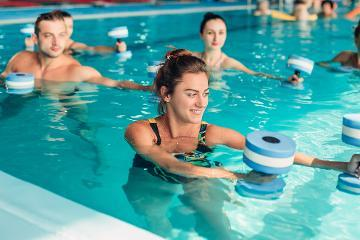 Aqua fitness classes