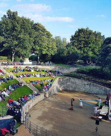 Wharton Park - amphitheatre