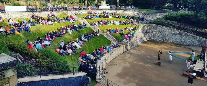 Wharton Park - amphitheatre - mobile version