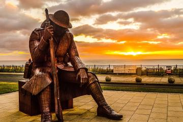 Seaham Food Festival - Tommy Statue