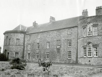 Croxdale Hall, north elevation, with private chapel on the left, (DCRO Ref: CC/Planning 1228/4)