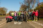 Great North Cycleway Group shot of cycle way