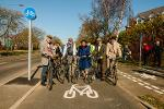 Great North Cycleway Vintage cycle group