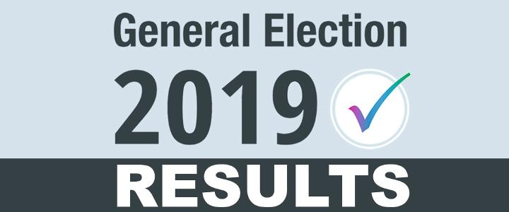 General Election 2019 results - mobile version