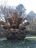 View Lane Park Timber Pine Cone Sculpture