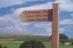 Pennine Way fingerpost