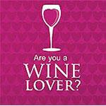 Are you a wine lover - Logo