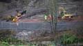 Pelaw Wood During restoration work, November 2015