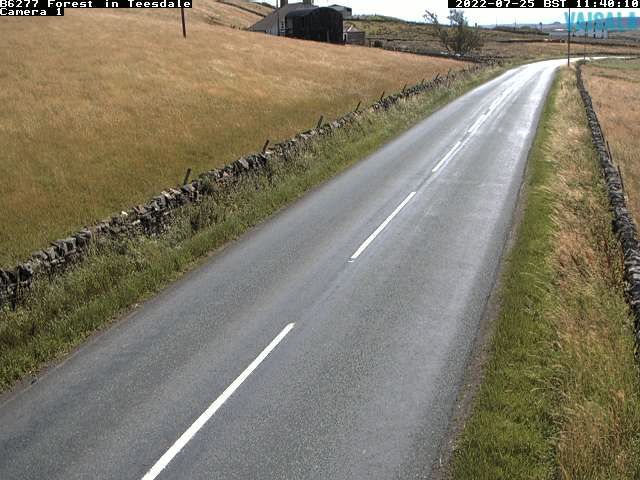 B6277 Forest In Teesdale weather camera image