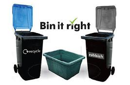 What goes in which bin?