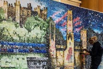 Artwork celebrating County Durham unveiled