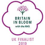 Britain in Bloom finalist 2019 logo