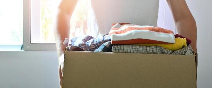 Box of clothes