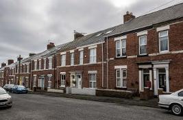 Row of terraced houses
