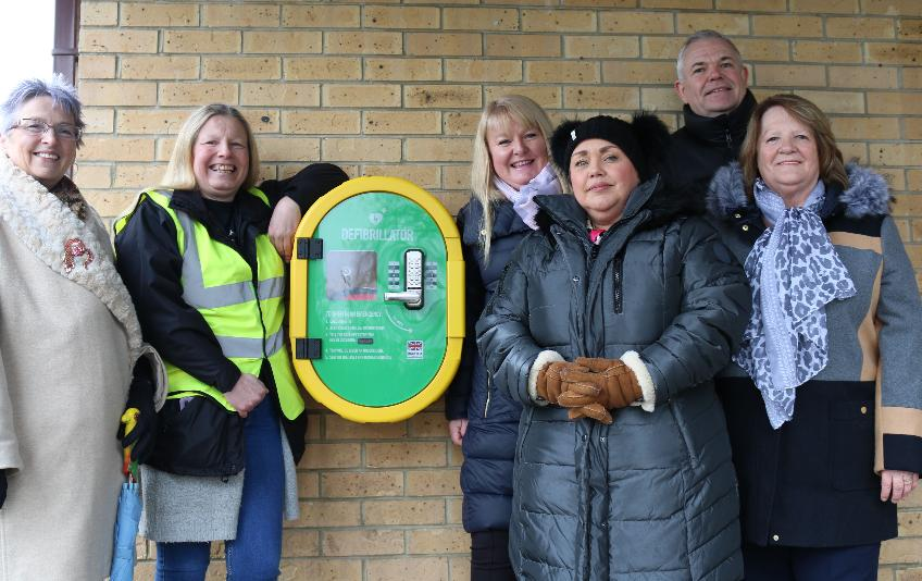 Defib fitted at Riverside Park