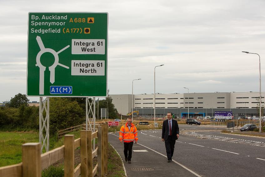 Junction 61 improvements complete