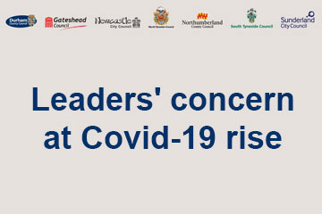 Leaders' concern at Covid-19 rise