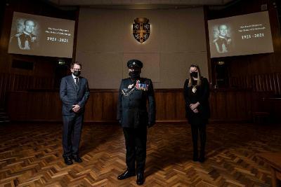 Paying tribute to HRH The Duke of Edinburgh