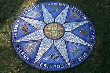 Wharton Park - mosaic