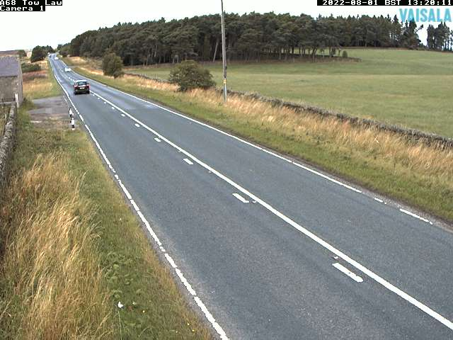 A68 Tow Law weather camera image